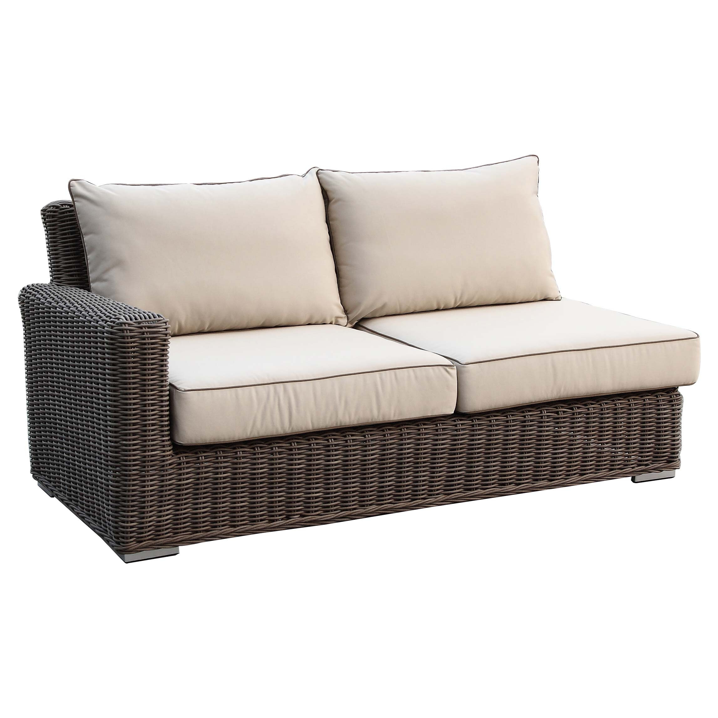 of bomelconsult outdoor furniture patio lovely loveseat unique wicker sectional