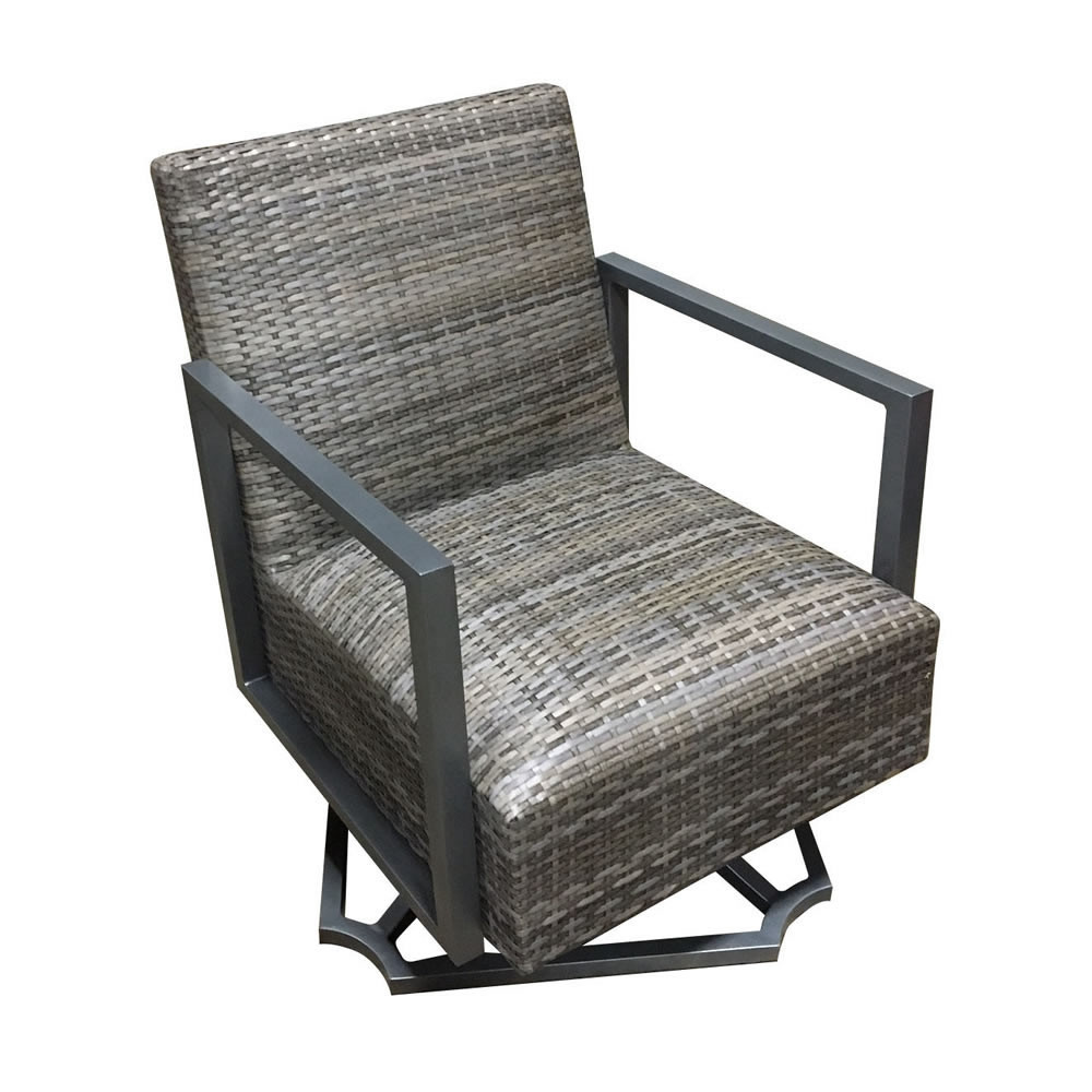 Forever Patio Mariner Wicker Swivel Rocker Wicker