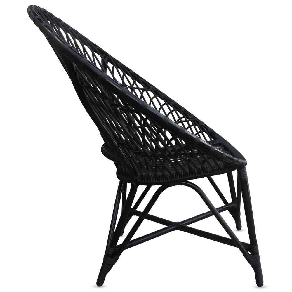 Harmonia Living Mandala Wicker Lounge Chair Wicker