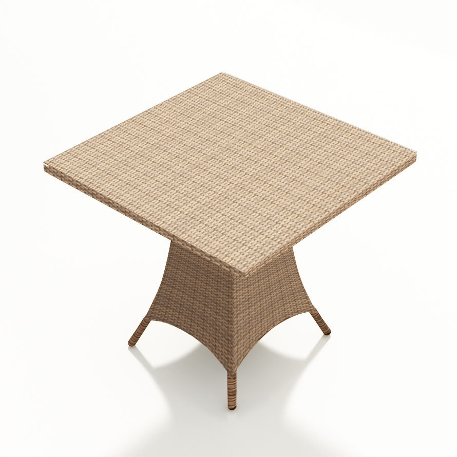 Forever patio hampton wicker 36 pub table for Wicker patio table