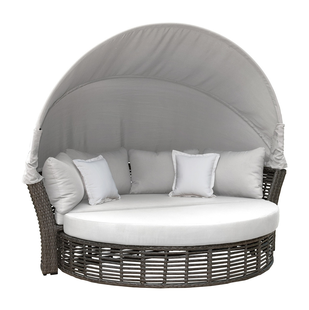 Panama Jack Graphite Wicker Daybed Wicker Daybeds
