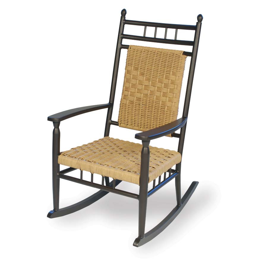 Lloyd Flanders Low Country Wicker Porch Rocker