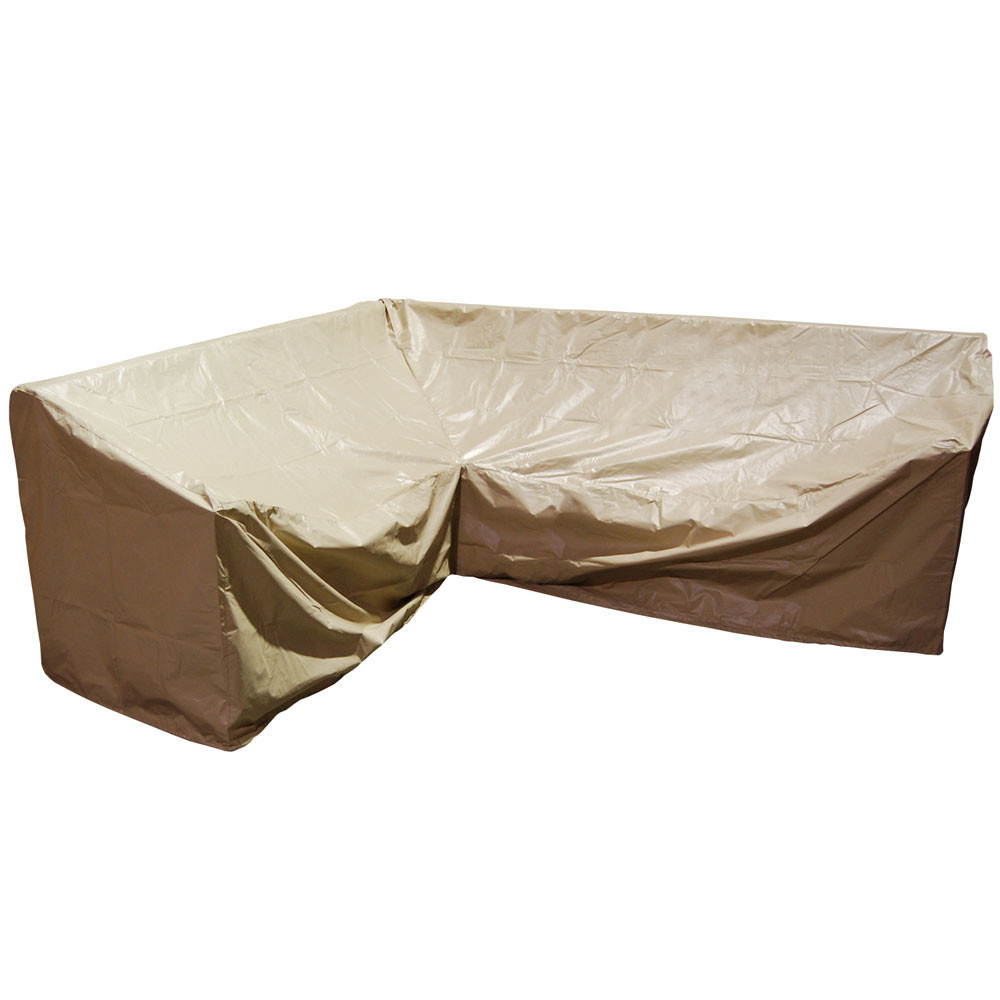 Forever Patio Hampton Wicker 6 Piece Right Facing Sectional Furniture Cover - Forever Patio Hampton Wicker 6 Piece Right Facing Sectional