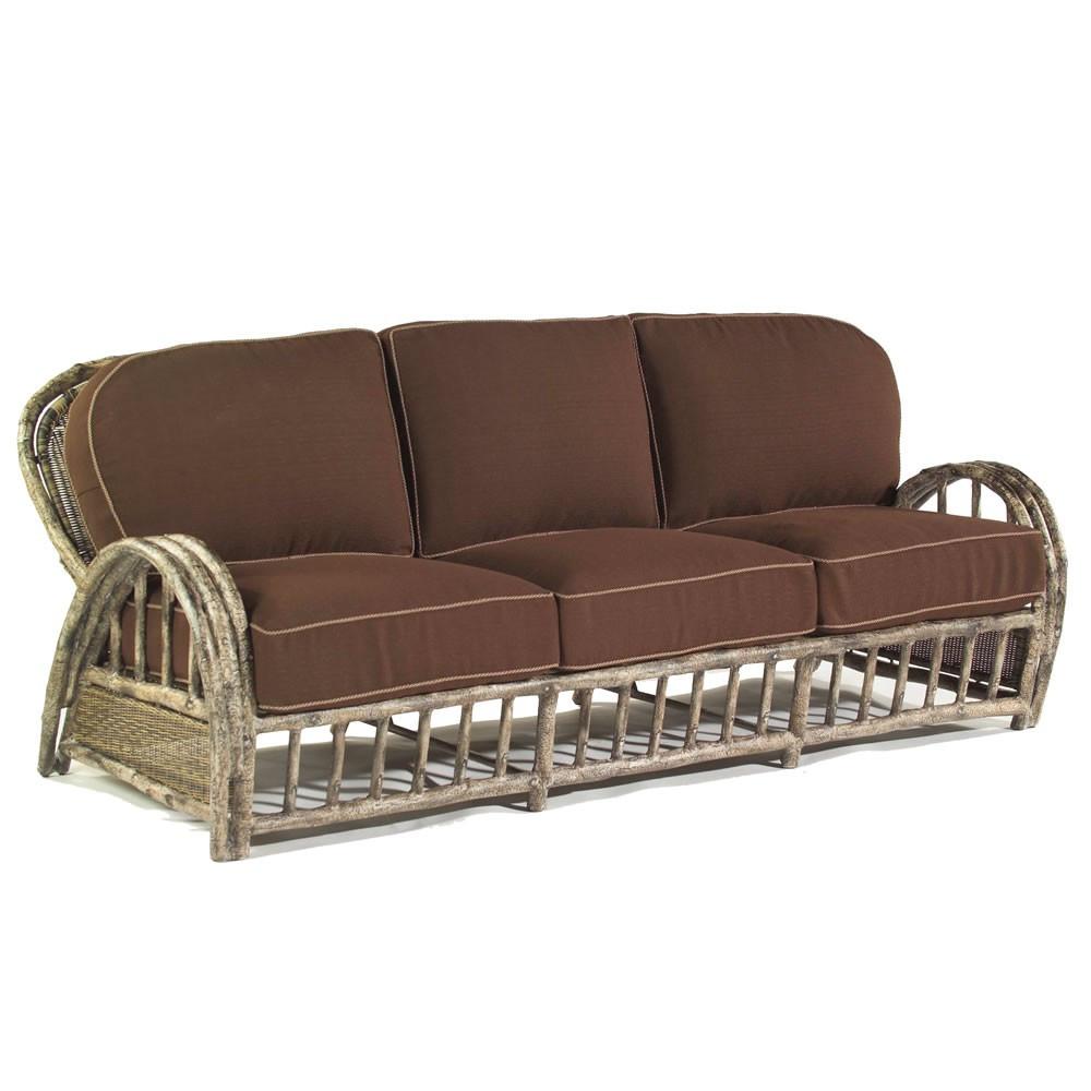 Whitecraft By Woodard River Run Wicker Sofa Replacement Cushion