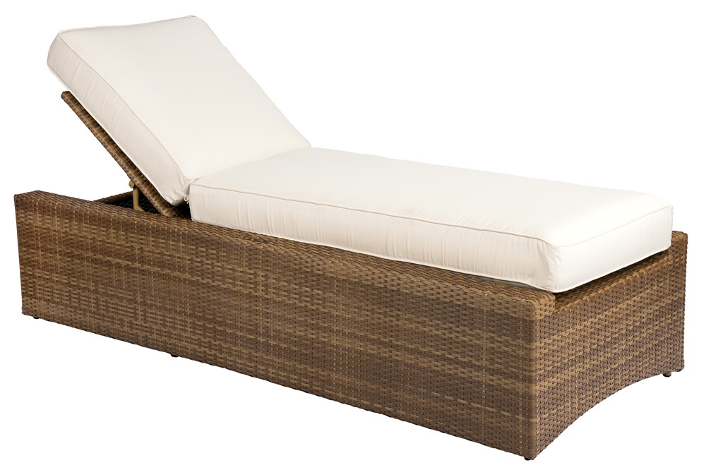 Whitecraft By Woodard Serene Wicker Chaise Lounge Replacement Cushion