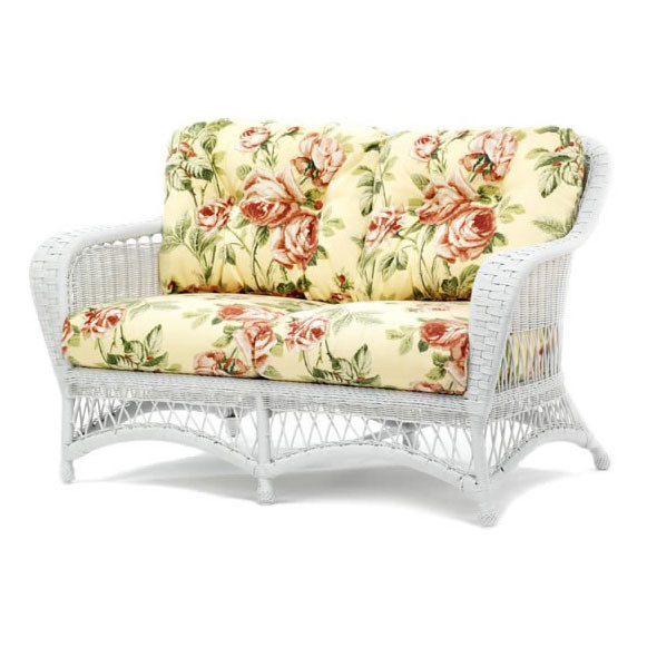 Replacement Cushion Whitecraft By Woodard Sommerwind Wicker Love Seat
