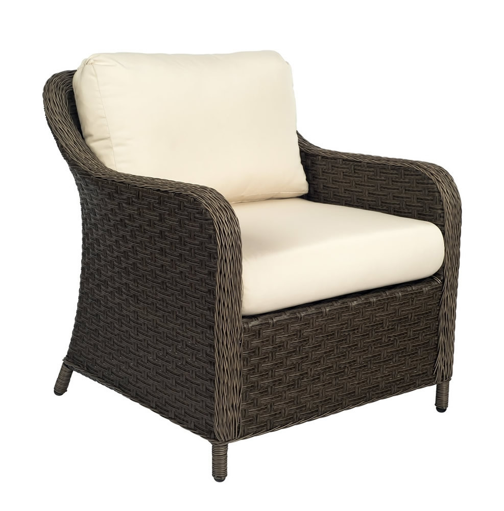 Good WhiteCraft By Woodard Savannah Wicker Lounge Chair