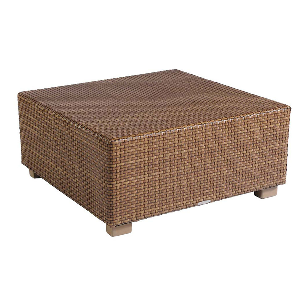 Delicieux WhiteCraft By Woodard Sedona Square Wicker Cocktail Table