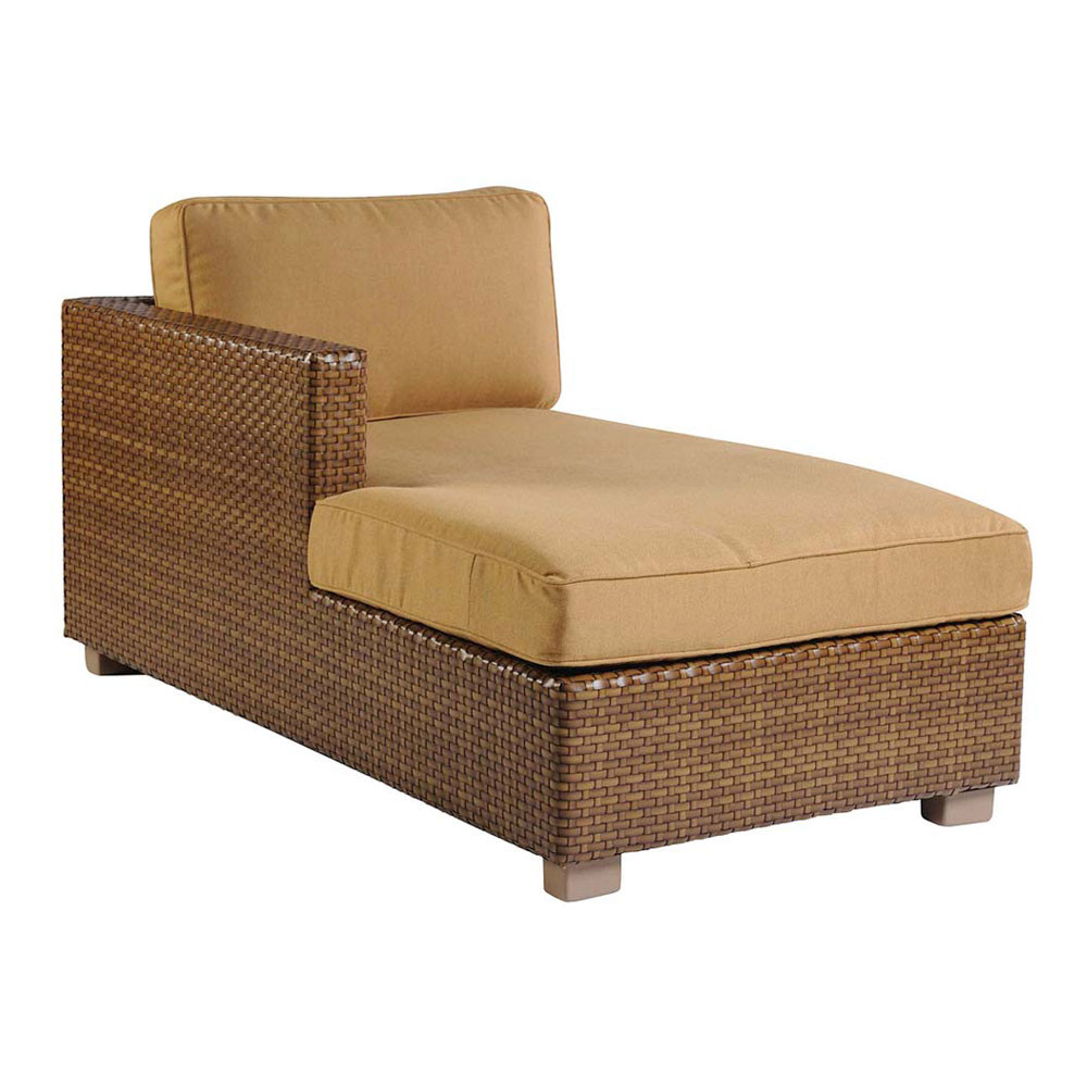 Sectional with chaise jonathan louis benson lshape for Bella flora double chaise lounge