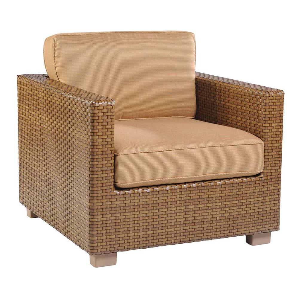 Whitecraft by Woodard Sedona Wicker Lounge Chair Wicker Lounge Chairs Wic