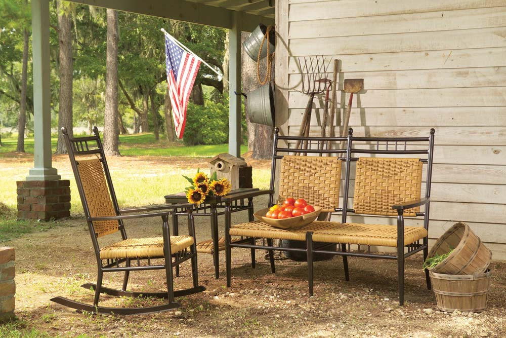 Lloyd Flanders Low Country Porch Rocker Wicker Com