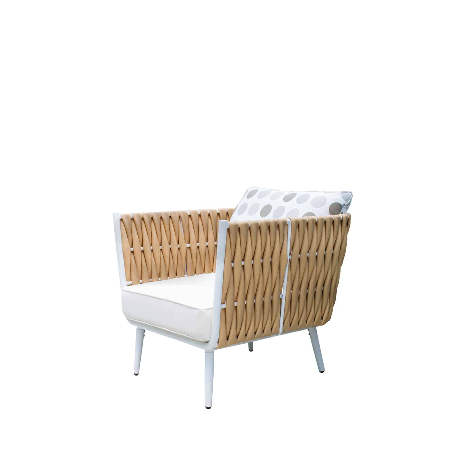 Source Outdoor Aria Wicker Lounge Chair