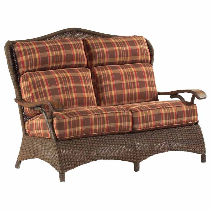 Replacement Cushion Whitecraft By Woodard Chatham Run Wicker Love Seat