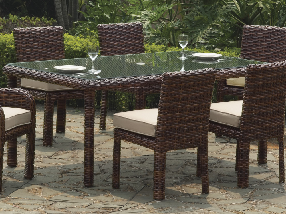 South Sea Rattan Saint Tropez Wicker Rectangular Dining  : st tropez dining rec table from www.wickercentral.com size 1000 x 750 jpeg 234kB