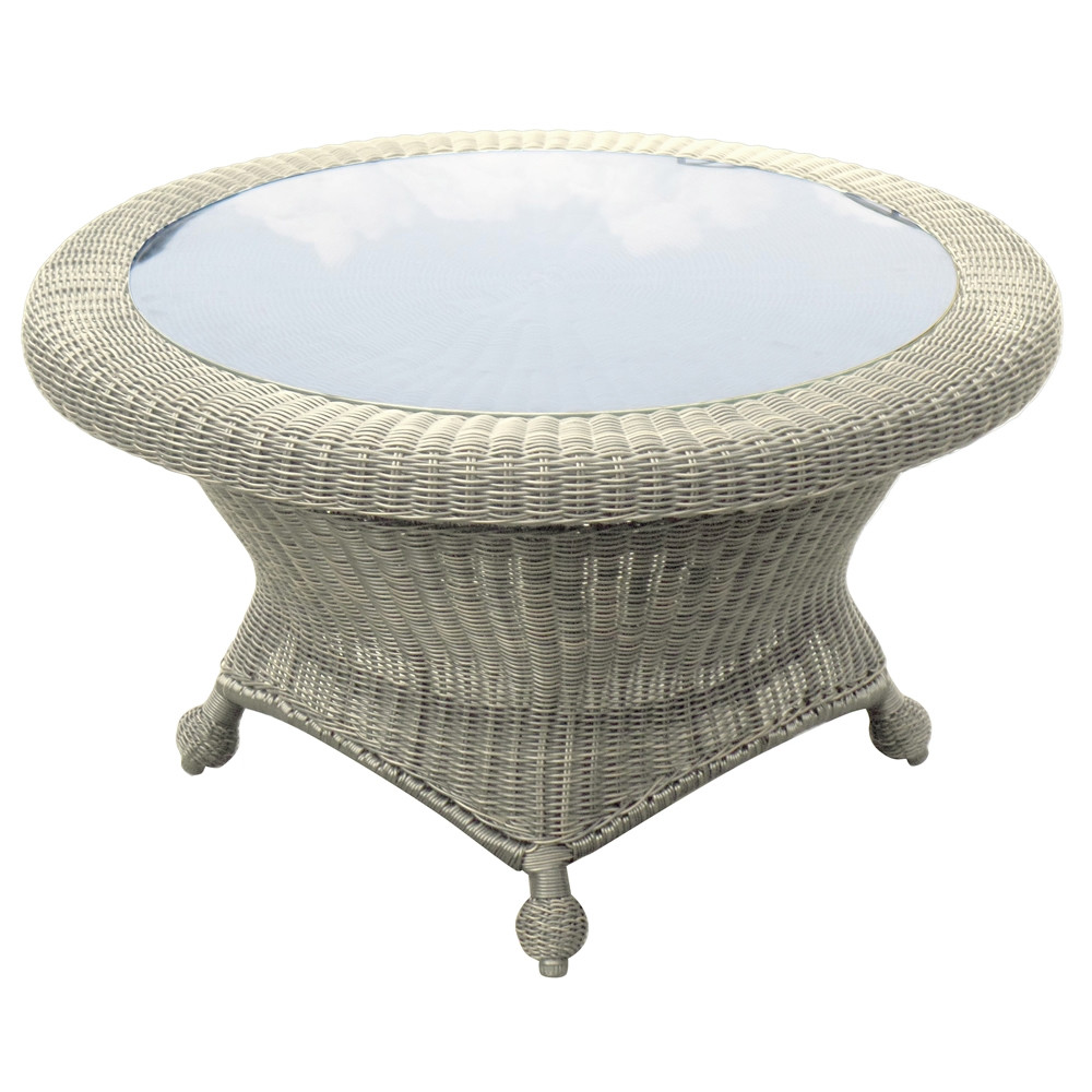 Forever Patio Carlisle Round Wicker Coffee Table