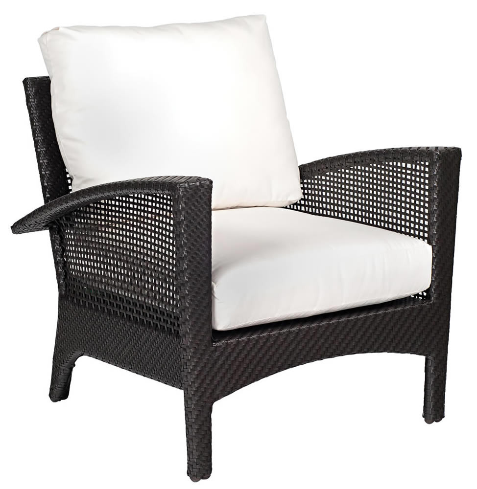 Whitecraft By Woodard Trinidad Wicker Lounge Chair
