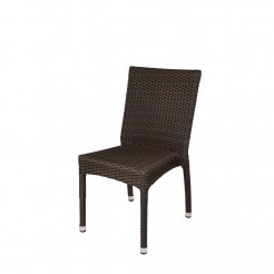 source outdoor sierra armless wicker dining chair