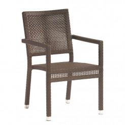 Sunset West Majorca Wicker Dining Chair Wicker Dining