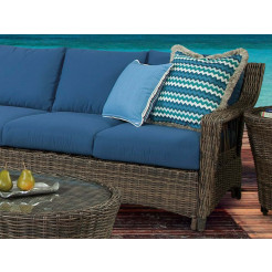south sea rattan saint john right arm facing wicker loveseat