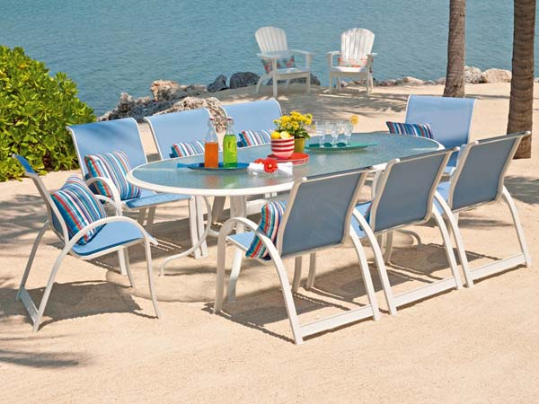 Telescope Casual Aruba II 9 Piece Dining Set