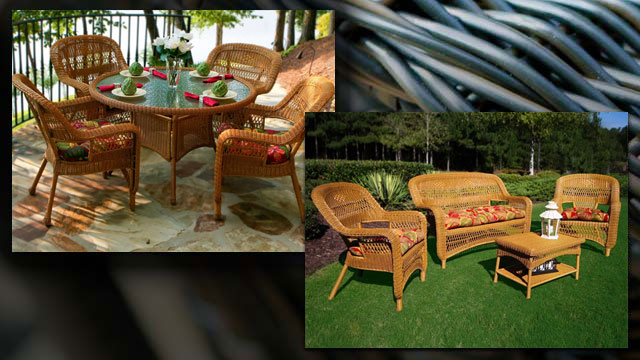 Portside 9 Piece Wicker Dining and Conversation Package. Only $1,518.98