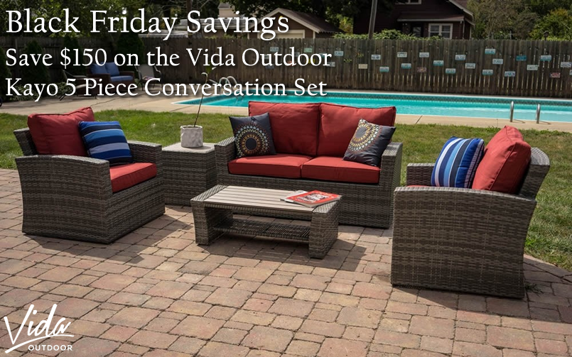 Black Friday Savings on Vida Outdoor