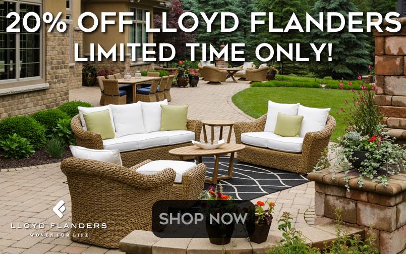 Lloyd Flanders Spring Savings