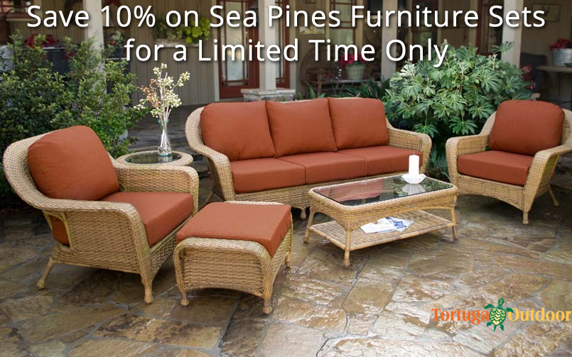 Save 10% on Sea Pines Furniture Sets