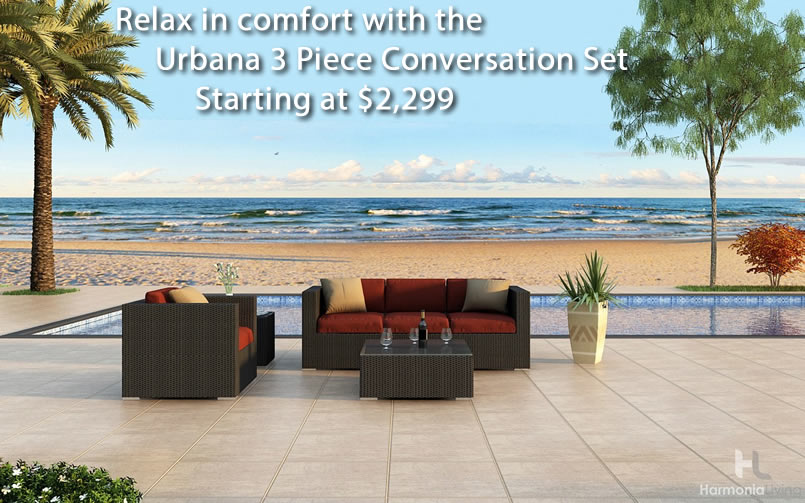 Relax in Comfort with the Urbana Conversation Set