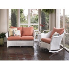 White Wicker Patio Sets