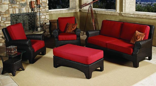 sunroom furniture wicker for